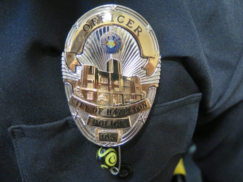 Hazleton PD Badge