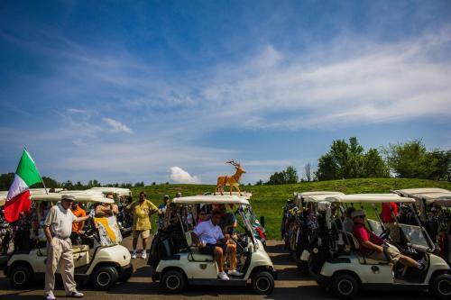 Carts with Reindeer